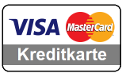 Kreditkarte - Mastercard, Visa, American Express